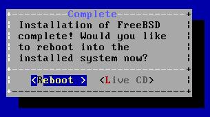 FreeBSD 10 - Reiniciar Unix