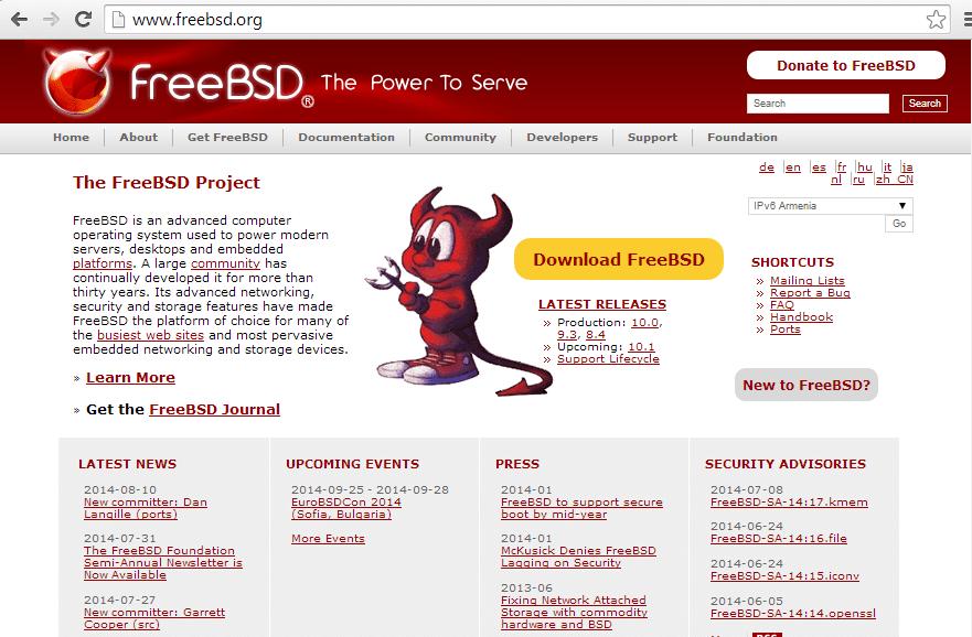 FreeBSD 10.0