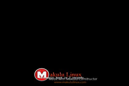 Iniciando o MakuluLinux