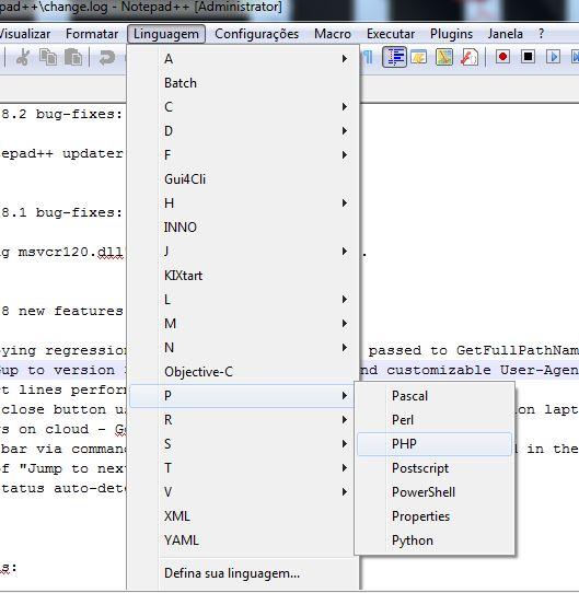 Instalação do editor de textos Notepad++ 09