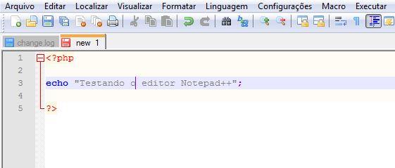 Instalação do editor de textos Notepad++ 12