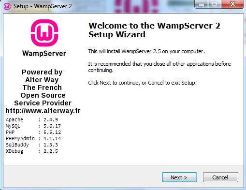 Curso de PHP - Instalando o WAMP