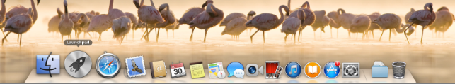 Mac OS X Yosemite Launchpad