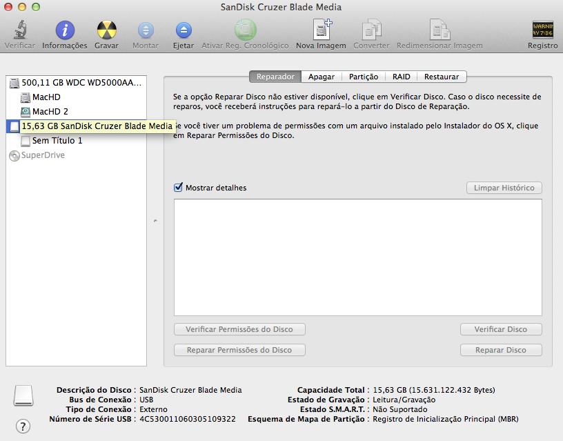 Mac OS X Yosemite pendrive de boot