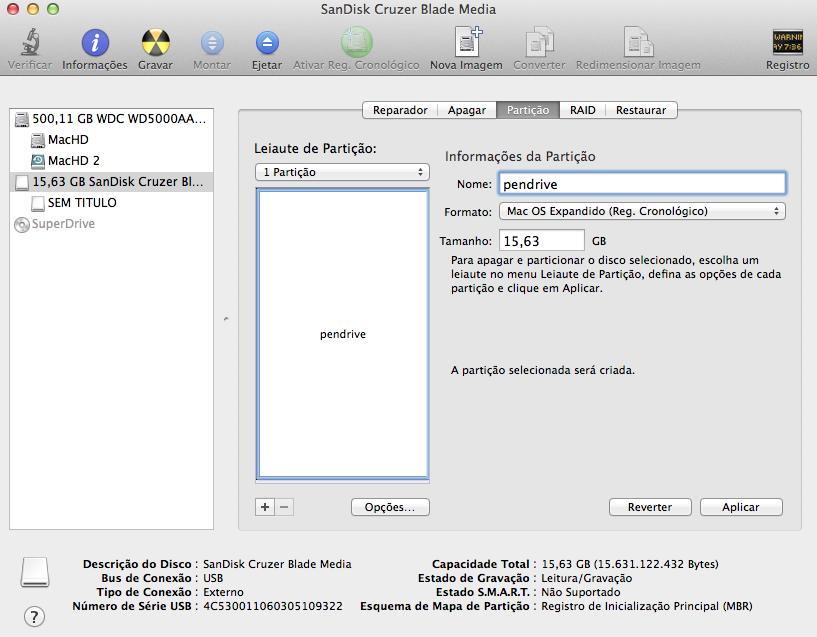 Registro Cronológico Mac OS X Yosemite