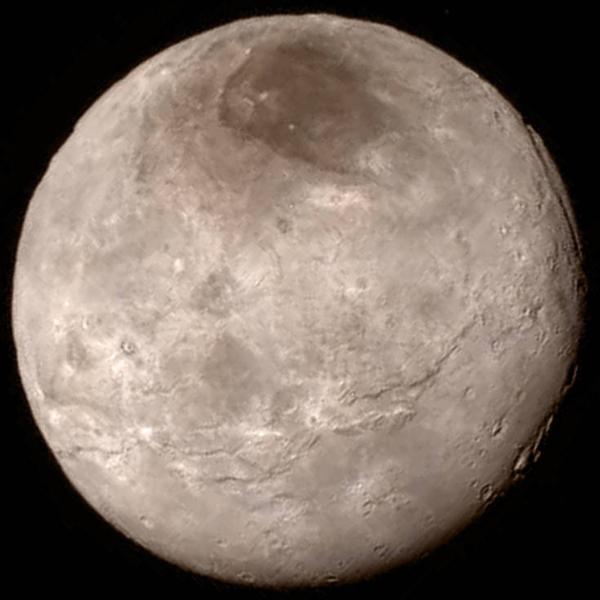 Caronte (Charon), lua de Plutão
