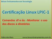 Comandos df e du no Linux - LPI 1