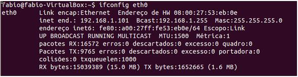 Comando ifconfig no Linux - LPIC 1