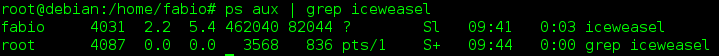 Comprobar procesos que se ejecutan en Linux con la herramienta ps