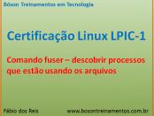 Comando fuser - descobrir processos no Linux