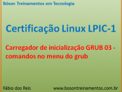 Menu do GRUB - Linux LPIC 1