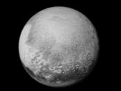 Plutão fotografado pela New Horizons