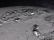 Montes Norgay e Planície Sputnik, em Plutão