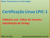 Sed no Linux - editor de streams