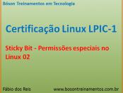 Sticky bit no Linux - LPIC 1