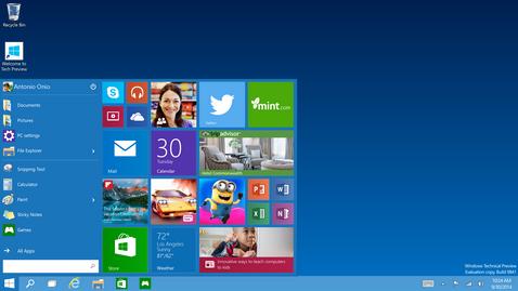 Microsoft Windows 10 build 10240