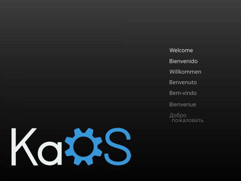 KaOS Linux - Instalação