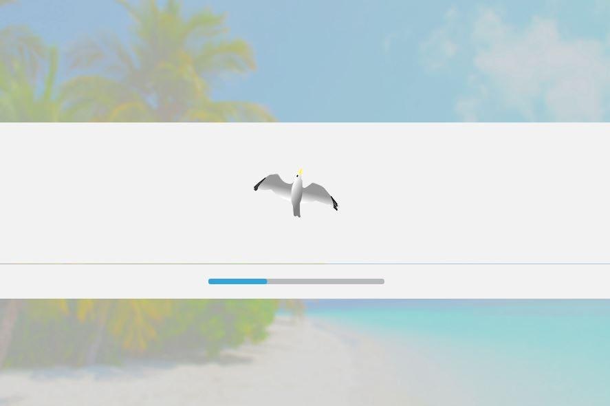 KaOS Linux - inicializando