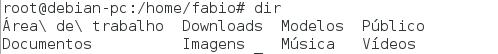 Comando dir no Linux - LPI 1