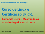 Comando users - Mostrando usuários logados no Linux