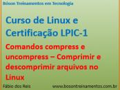 Comandos compress e uncompress - Linux LPI 1
