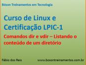 Comandos dir e vdir - Listando conteúdo de diretórios no Linux