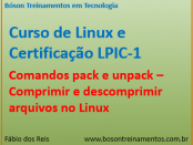 Comandos pack e unpack - Linux LPI 1