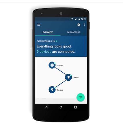 Roteador Google OnHub app