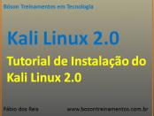 Kali Linux 2.0 Tutorial de Instalação
