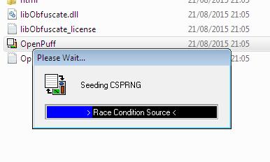 Esteganografia - OpenPuff CSPRNG