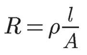 Curso de Eletrônica - Resistividade Elétrica - Fórmula