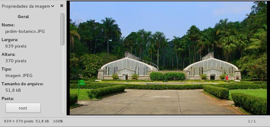 Jardim Botânico - Esteganografia com steghide no Linux