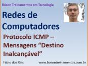 Protocolo ICMP - Mensagem do tipo Destino Inalcançável