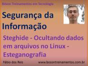 Steghide - esteganografia no Linux