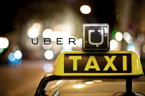 Uber taxi - Serviço de transporte