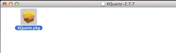Abrir o pacote do XQuartz no OS X Yosemite