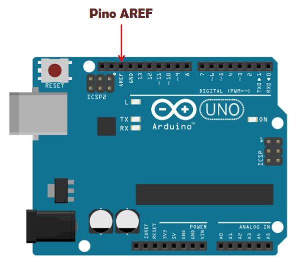 Pino AREF no Arduino