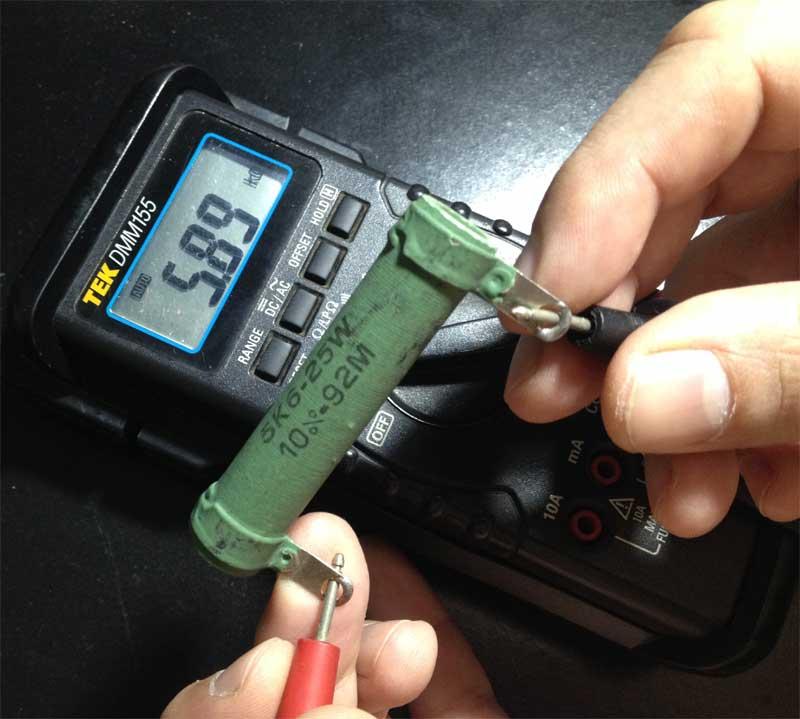 Curso de Eletrônica - Medir Resistência Elétrica
