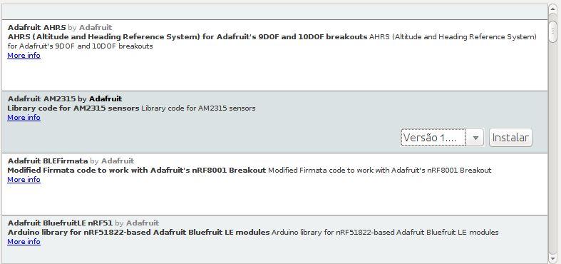 Sensor de temperatura AM2315 Adafruit para Arduino