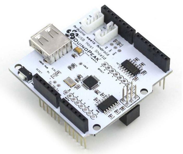 Shield USB Host Duinopeak para Arduino