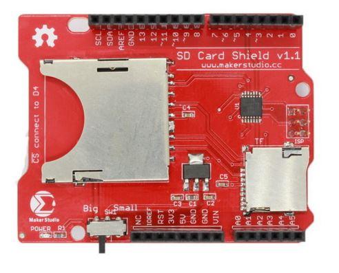 Shield para cartão SD Maker Studio