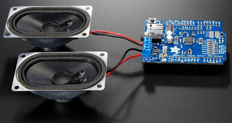 Shield MP3 da Adafruit