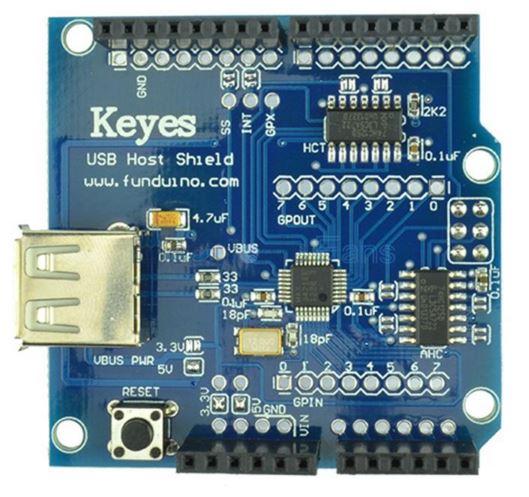 Shield USB Host Keyes para Arduino