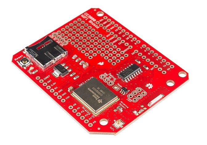 Shield WiFi da Sparkfun - Módulo CC3000