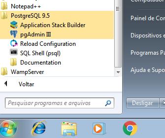 Testando a instalação do PostgreSQL com pgAdmin III