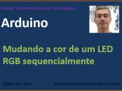 Arduino - piscando LED RGB