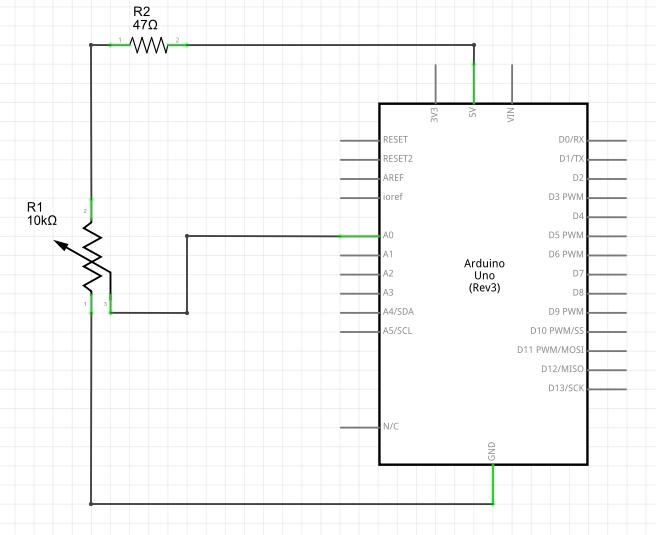 Ler dados a partir de um potenciômetro com Arduino