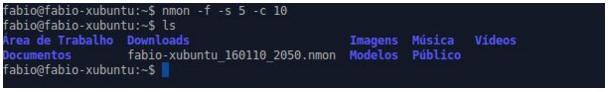 Captura de dados com nmon no Linux
