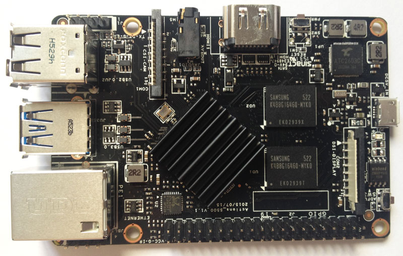 Roseapple Pi - Placa