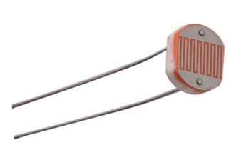 LDR - Light Dependent Resistor típico